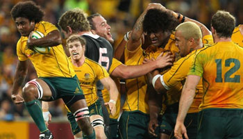 The Wallabies take the Tri Nations in thriller at Suncorp Stadium