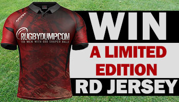 WIN our latest limited edition Rugbydump jersey!