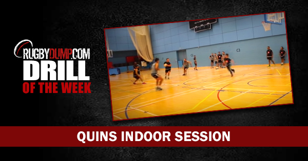 Drill of the Week: Quins Indoor Session