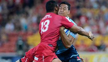 Reds vs Waratahs Highlights - Super Rugby 2013 Round 2