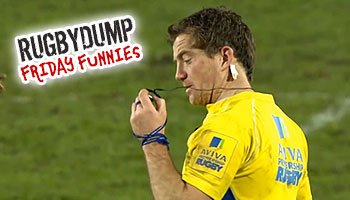 Friday Funnies - Referee JP Doyle gets hit in the face by the ball