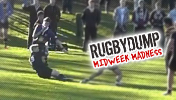 Midweek Madness - Committed schoolboy puts head down, tackles referee