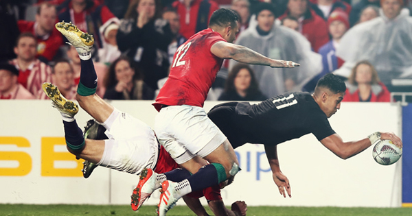 All Blacks cruise to victory in bruising first Test with British & Irish Lions