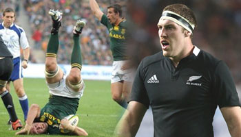 Brodie Retallick issued off-field yellow card for tip tackle on Andries Bekker
