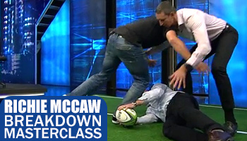 Richie McCaw reveals his secrets in this excellent Breakdown Masterclass