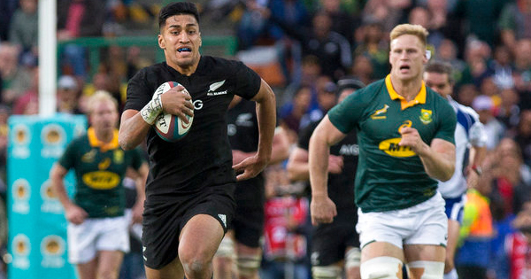 Rieko Ioane calls Springboks and All Blacks classic toughest Test he's played