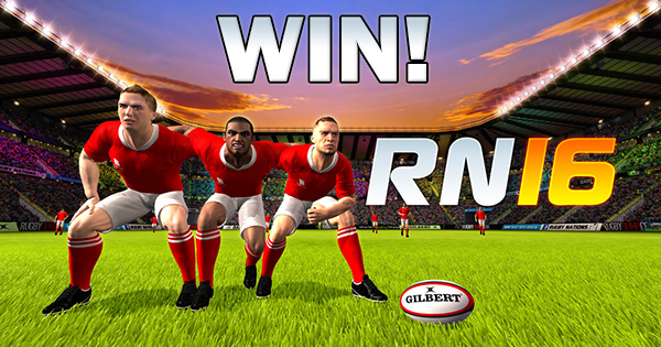 WIN a copy of newly launched Rugby Nations 16 mobile rugby game