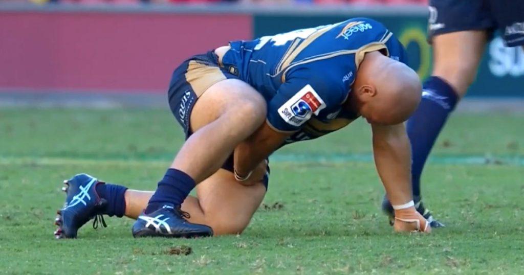 Crunching Fijian tackle puts immediate halt to Brumbies attack at Brisbane 10s