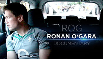Ronan O'Gara documentary trailer & clip about Sexton rivalry