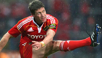 Munster's Ronan O'Gara facing ban for deliberate kick on Sean Cox
