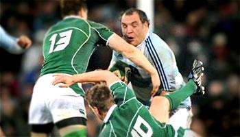Rodrigo Roncero puts Ronan O'Gara on his backside in 2008