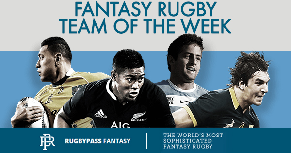 FANTASY RUGBY: Rugby Championship Round 1 Team of the Week