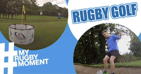 Believe it or not, RUGBY GOLF is now a real thing