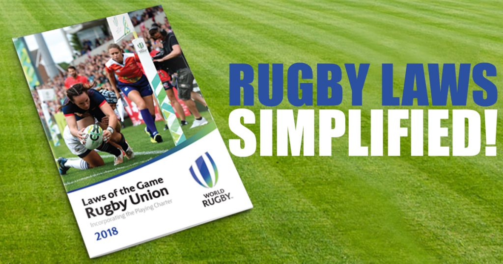 New simplified rugby law book launched for 2018