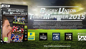 WIN a copy of Rugby Union Team Manager 2015!