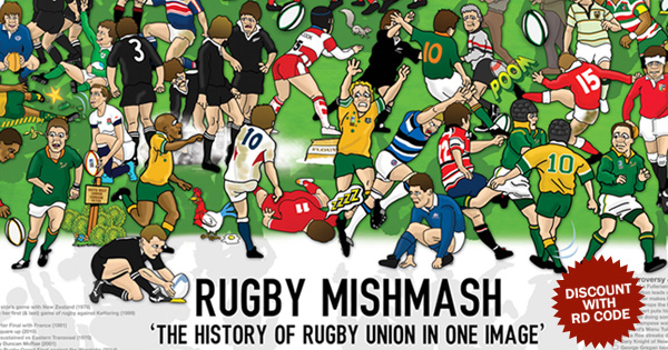 Get Rugby Mishmash, The History of Rugby Union in One Image