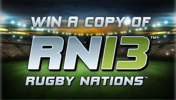 WIN a copy of iOS game Rugby Nations 13