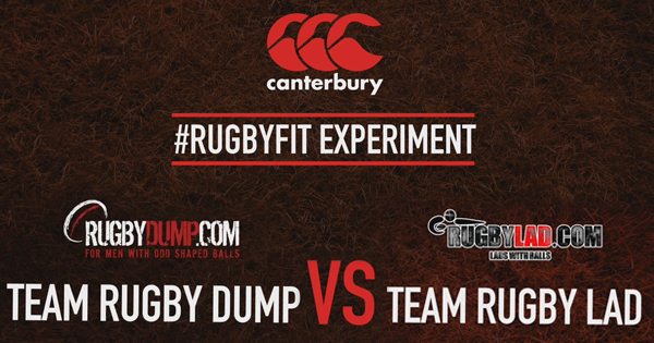 Canterbury Rugby Fit Experiment: Week 1, Initiation