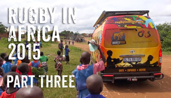 Inside the Pride - Rugby in Africa 2015 - Part 3