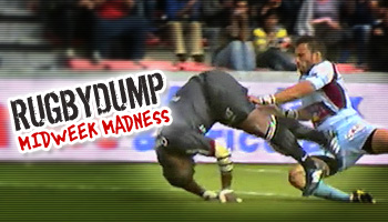 Midweek Madness - Rupeni Caucau's butchered try for Toulouse