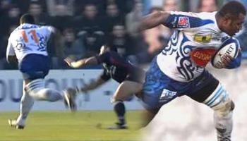 Rupeni Caucau is back - Hatrick vs Toulon