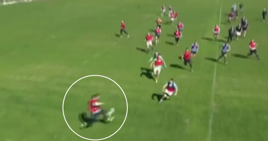 Russian winger produces sensational bit of skill to get past his man out wide