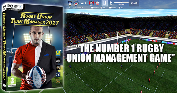 WIN a copy of brand new Rugby Union Team Manager 2017