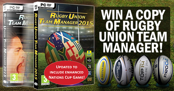 WIN Rugby Union Team Manager 2015, now updated for 2016!