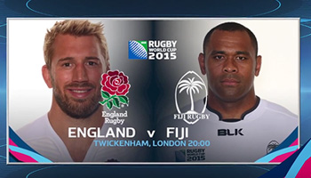 Rugby World Cup Daily - Opening Day as England and Fiji go head to head