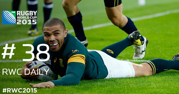 RWC Daily: Habana's 15 tries and a Semi Final preview