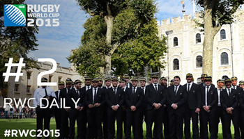 Rugby World Cup Daily - Episode 2 - The Champions arrive