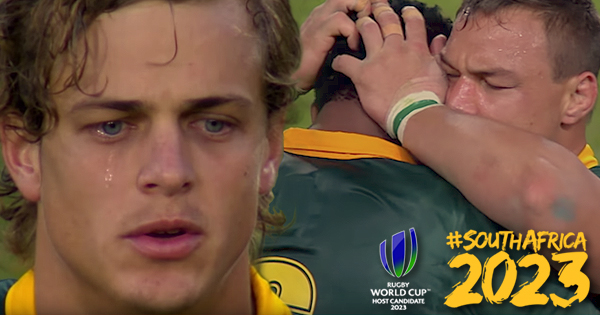 South Africa release powerful video in the fight to host Rugby World Cup 2023