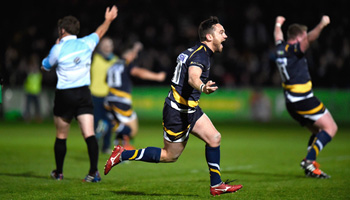 Worcester Warriors secure dramatic Premiership return with win over Bristol