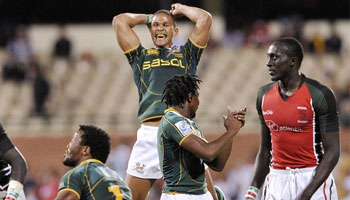 South Africa defend the Adelaide Sevens title
