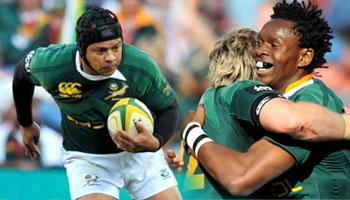 Springboks thrash Argentina in Johannesburg