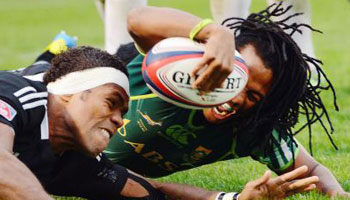 South Africa beat New Zealand to win the Tokyo Sevens Cup Final