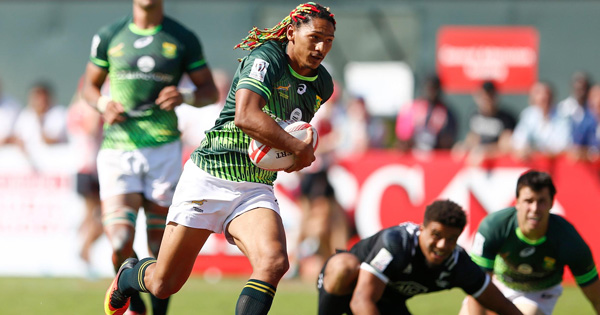 South Africa plough through New Zealand and Fiji to win 2016 Dubai 7s