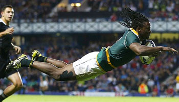 South Africa beat New Zealand to win Gold at the Commonwealth Games Sevens