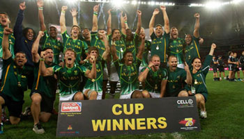 South Africa pay tribute to former leader with 2013 SA Sevens win