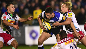 Sam Burgess makes his rugby union debut in Bath win over Harlequins