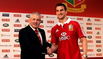British & Irish Lions squad announcement - Sam Warburton named as captain