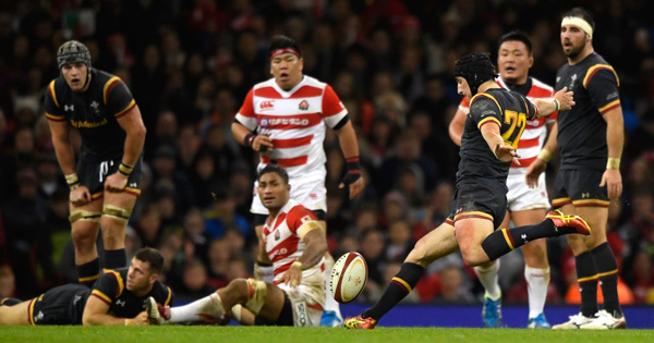 Sam Davies helps Wales edge Japan after tight encounter in Cardiff