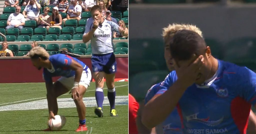 Samoan players lose their bearings resulting in comedy gold at London 7s