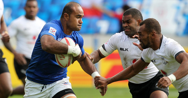 Samoa come from behind to upset Fiji in epic Paris Sevens Final