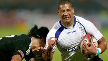 Samoa beat New Zealand to win the Dubai Sevens 2012