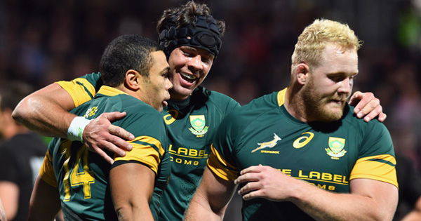Springboks put policy in place to prevent losing players to overseas