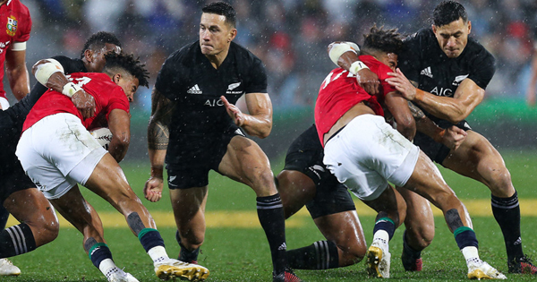 Sonny Bill Williams says he 'let his brothers down' after red card and ban