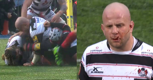 Schalk Brits banned for three weeks after red card for punching Nick Wood