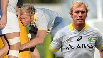 Schalk Burger starts at number eight for Springboks vs Wallabies in Brisbane