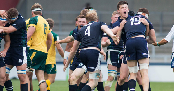Scotland stun Australia on U20 World Championship opening day